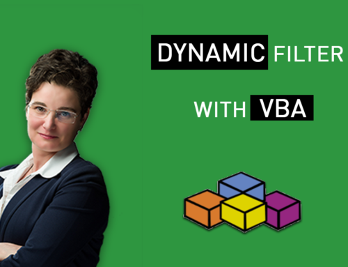 Dynamic Filter with VBA