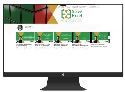Resources to learn EXCEL